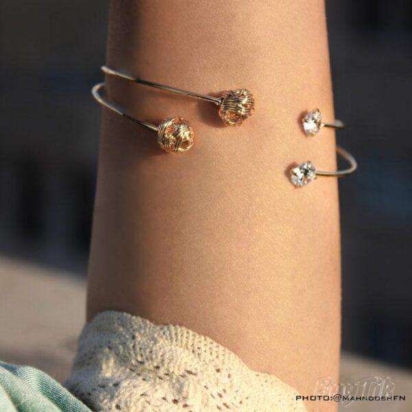 دستبند طرح کاموا برند vonly