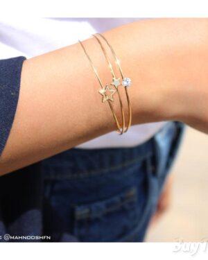دستبند سه تکه ستاره ای برند vonly